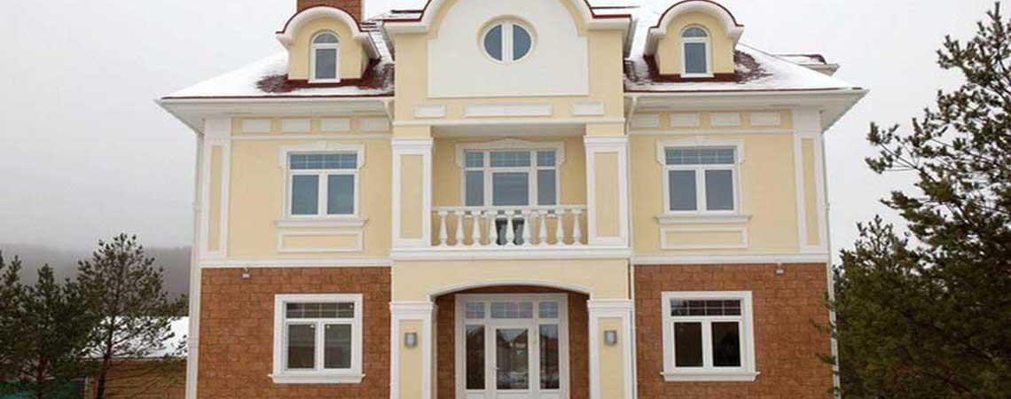 Фасадный декор из полиуретана и полистирола