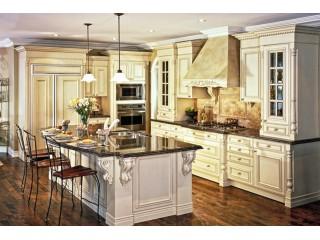 лепнина на кухне в классическом стиле