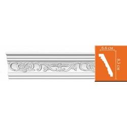95036 гибкий потолочный плинтус с орнаментом DECOMASTER