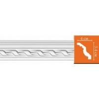 95081 гибкий потолочный плинтус с орнаментом DECOMASTER