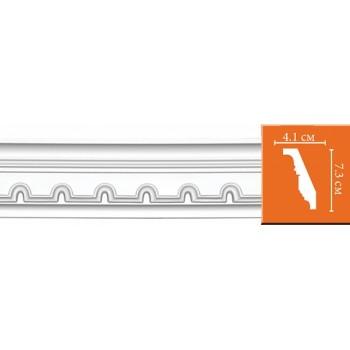 95112 гибкий потолочный плинтус с орнаментом DECOMASTER
