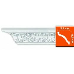 95292 гибкий потолочный плинтус с орнаментом DECOMASTER