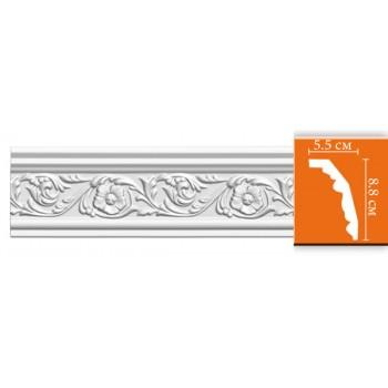 95323 гибкий потолочный плинтус с орнаментом DECOMASTER