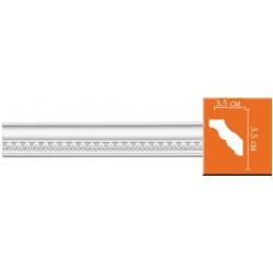 95348 гибкий потолочный плинтус с орнаментом DECOMASTER