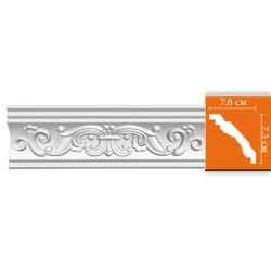 95406 гибкий потолочный плинтус с орнаментом DECOMASTER