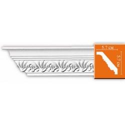 95609 гибкий потолочный плинтус с орнаментом DECOMASTER
