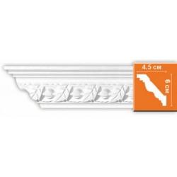 95861 гибкий потолочный плинтус с орнаментом DECOMASTER