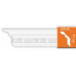 DT  9807 потолочный плинтус с орнаментом