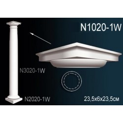 N1020-1 Капитель полуколонны