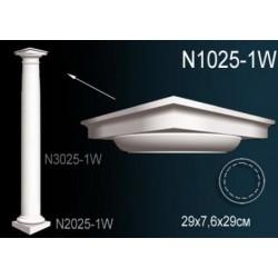 N1025-1  Капитель полуколонны