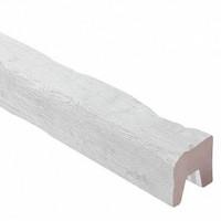 Декоративная балка TIROL (белая) 200х130х4000