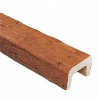 Декоративная балка Рустик (дуб светлый) 200х130х4000