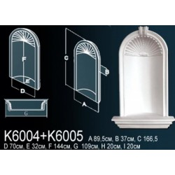 Декоративная ниша K6004