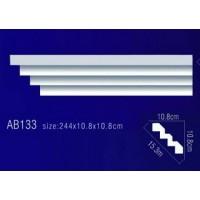 AB133 Плинтус потолочный без орнамента