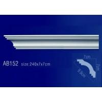 AB152 Плинтус потолочный без орнамента