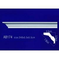 AB174 Плинтус потолочный без орнамента