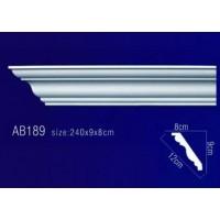 AB189 Плинтус потолочный без орнамента