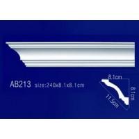 AB213 Плинтус потолочный без орнамента