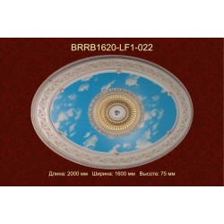 Потолочный цветной купол BRRB1620-LF1-022