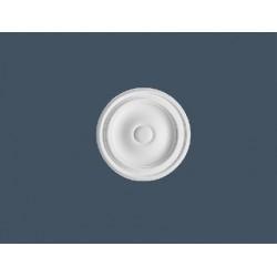 Гладкая потолочная розеткаR07