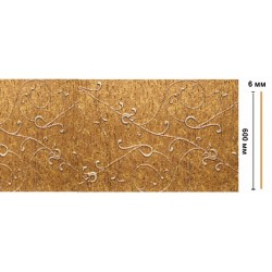 Декоративная панель цветная лепнина N60 -28 (595х6х2400мм)/6